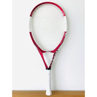 【美品】ウィルソン『Nコード N5/NCODE』テニスラケット/レッド/テニス肘