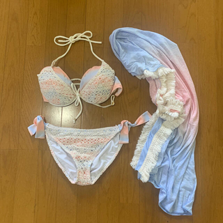 マルイ - 新宿マルイ【ru】水着 ビキニ&パレオセット L(11号) バストEFサイズ
