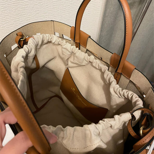 L'Appartement DEUXIEME CLASSE(アパルトモンドゥーズィエムクラス)のL'Appartement 【ZANCHETTI 】Tote Bag レディースのバッグ(トートバッグ)の商品写真