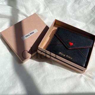 miumiu - MIUMIU マドラス ラブ 財布