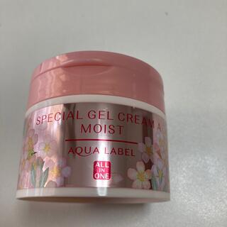 アクアレーベル(AQUALABEL)のアクアレーベル スペシャルジェルクリーム(モイスト) 90g 数量限定桜の香り(オールインワン化粧品)