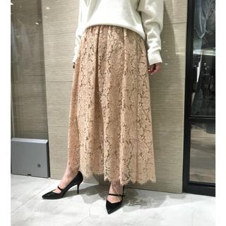 Whim Gazette JASMYレースギャザースカート