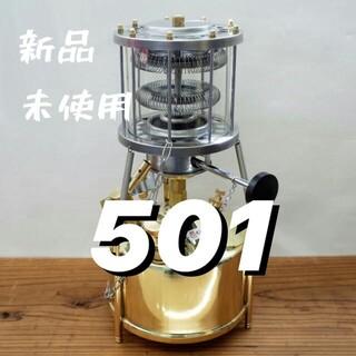 Coleman - 新品 未使用 武井バーナー パープルストーブ 501A セット ストーブ