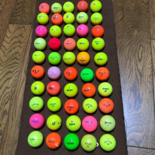 Callaway(キャロウェイ)のゴルフボール 中古 チケットのスポーツ(ゴルフ)の商品写真