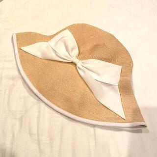 UNITED ARROWS - アシーナニューヨーク ラフィア 帽子 麦わら帽子