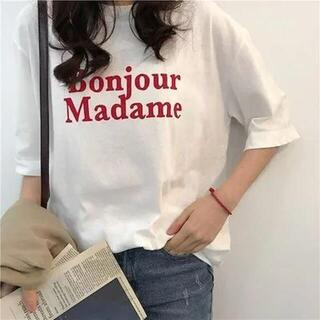 ディーホリック(dholic)のロゴTシャツ(Tシャツ(半袖/袖なし))