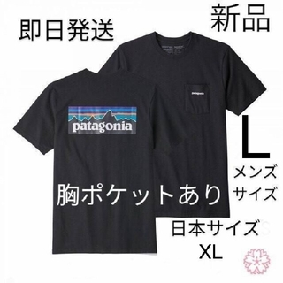 patagonia - 送料無料 パタゴニア P-6 ポケット Tシャツ Lサイズ 国内正規品 ブラック