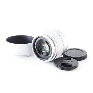 パナソニック(Panasonic)の❤F1.7の明るい単焦点レンズ❤LUMIX G 25mm 純正フード(レンズ(単焦点))