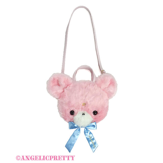 Angelic Pretty(アンジェリックプリティー)のAngelic Pretty Milkyベアーフェイス3wayバッグ レディースのバッグ(リュック/バックパック)の商品写真