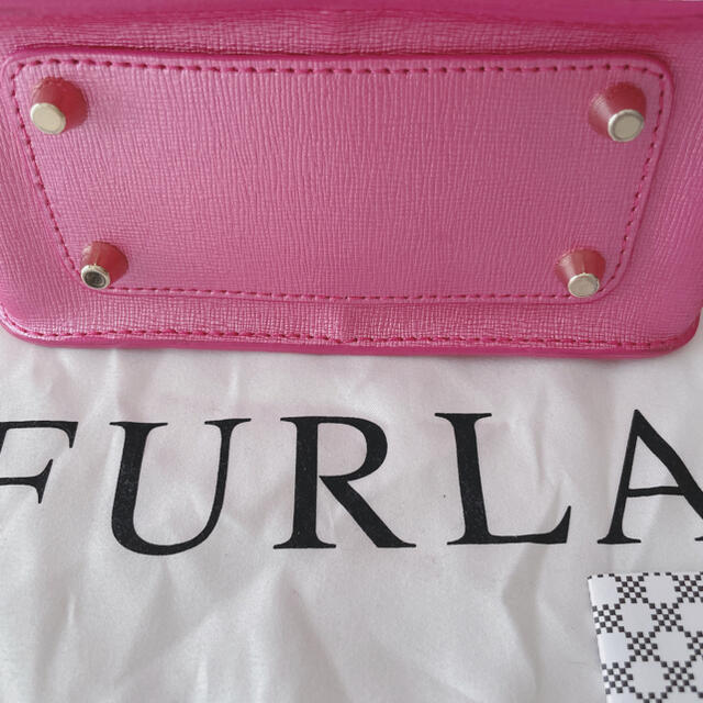 Furla(フルラ)の美品 FURLA メトロポリス ショルダーバッグ ピンク レディースのバッグ(ショルダーバッグ)の商品写真