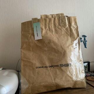 COMME des GARCONS - 18ww コムデギャルソンシャツ PVC トートバッグ