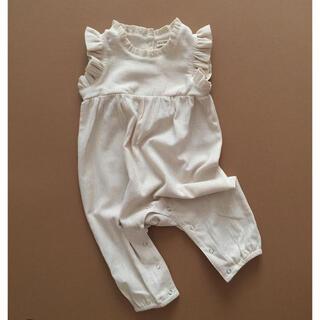 Caramel baby&child  - minimom nancy jumpsuit ecru 3Y