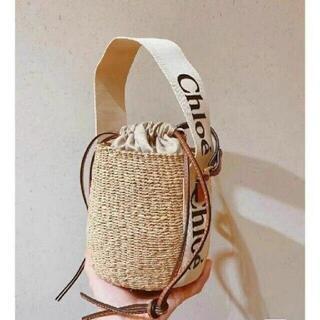クロエ(Chloe)の新品 CHLOE かごバッグ バケットバッグ(ショルダーバッグ)