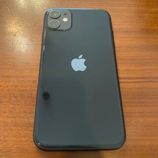 iPhone - 【美品】SIMフリー iPhone11 ブラック 128GB 電池容量100%