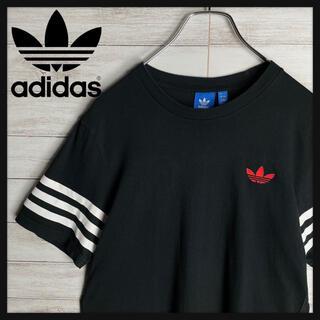 アディダス(adidas)の【人気デザイン】アディダスオリジナルス スリーストライプ 胸元刺繍ロゴ Tシャツ(Tシャツ/カットソー(半袖/袖なし))