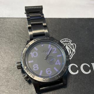 ニクソン(NIXON)のNIXON  黒 時計(腕時計)