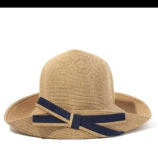 バーニーズニューヨーク(BARNEYS NEW YORK)の未使用 アシーナニューヨーク  マディソン 帽子(麦わら帽子/ストローハット)