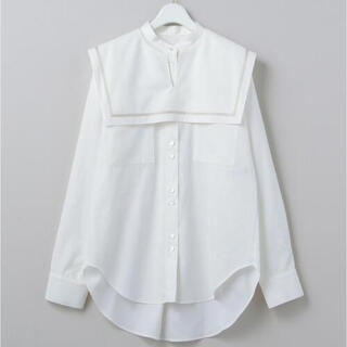 BEAUTY&YOUTH UNITED ARROWS - 6 ROKUCOTTON SAILOR COLLAR BLOUSE