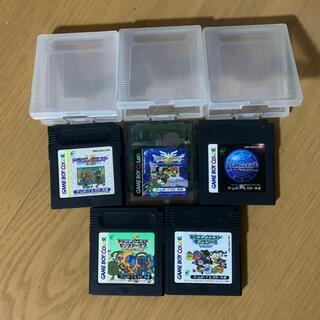 ゲームボーイ(ゲームボーイ)のゲームボーイ カラー RPG系 ソフト 5本(携帯用ゲームソフト)