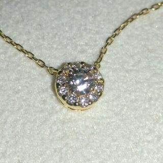 ヴァンドームアオヤマ(Vendome Aoyama)のヴァンドーム青山 K18イエローゴールド ダイヤモンド ネックレス(ネックレス)