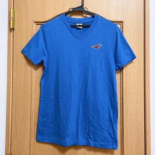 ホリスター(Hollister)の【Hollister】 Vネック Tシャツ ブルー(Tシャツ(半袖/袖なし))