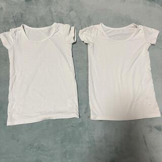 ユニクロ(UNIQLO)のユニクロ ヒートテック 半袖 100サイズ 2枚セット(下着)