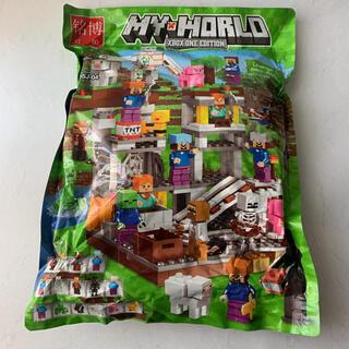 大人気!レゴ互換マイクラ