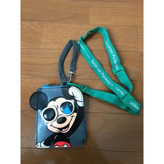 ディズニー(Disney)のディズニー ミッキー チケットホルダー バケーションパッケージ(キャラクターグッズ)