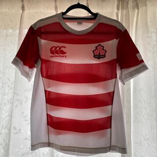 カンタベリー(CANTERBURY)のラグビー日本代表レプリカ(Tシャツ/カットソー(半袖/袖なし))