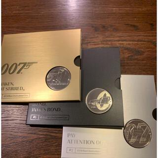 ⭐️新品 ジェームズ ボンド2020 英国£5 コイン 3枚セット #1〜3(貨幣)