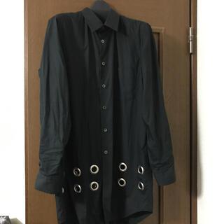 BLACK COMME des GARCONS - ハトメシャツ