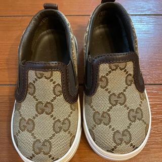グッチ(Gucci)のGUCCI 子供キッズベビー靴(スニーカー)