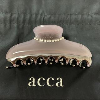アッカ(acca)のacca ヘアクリップ 大 ニューコラーナLサイズ(バレッタ/ヘアクリップ)