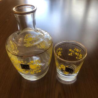 トウヨウササキガラス(東洋佐々木ガラス)のアデリア 水差し 鳥がら 北欧(食器)