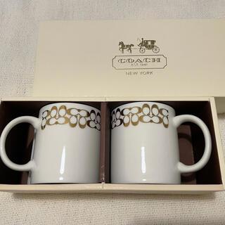 COACH - 【新品未使用】COACH ペアマグカップ