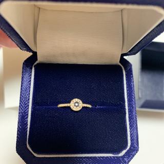 アーカー(AHKAH)のアーカー ヴィヴィアンローズリング 新品 9号 BOX付き ダイヤモンド(リング(指輪))