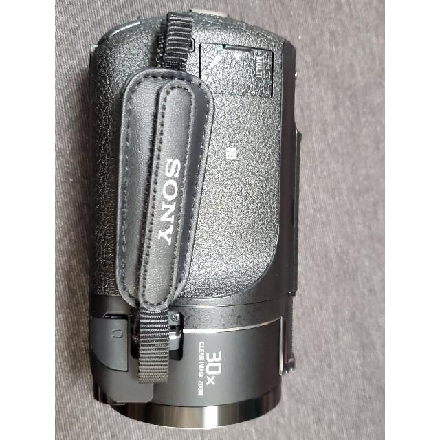 SONY(ソニー)の美品 使用回数少 ソニー ax45 本体および付属品 sony スマホ/家電/カメラのカメラ(ビデオカメラ)の商品写真