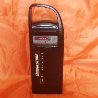 ブリヂストン(BRIDGESTONE)のブリジストン[ヤマハ]電動自転車バッテリー X38-30 3.7 Ah  良品(パーツ)