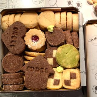 缶入りクッキー brown(菓子/デザート)