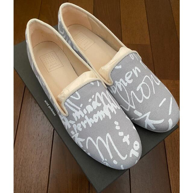mina perhonen(ミナペルホネン)の【新品、未使用】minape シューズ 36ミナペルホネン レディースの靴/シューズ(スリッポン/モカシン)の商品写真