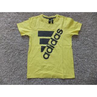 アディダス(adidas)のアディダス 半袖 Tシャツ(イエロー)黄色 140~150cm(Tシャツ/カットソー)