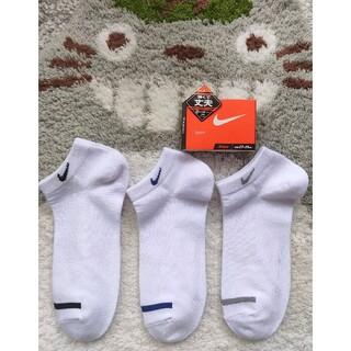 ナイキ(NIKE)のおちゃめ3兄弟様専用 NIKE 靴下 白 23〜25cm ソックス 6足セット(ソックス)