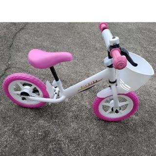 Air bike エアバイク キックバイク ヘルメット、膝当、肘当付きセット(自転車)