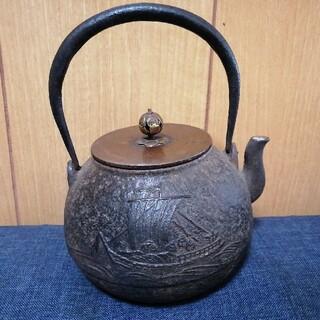時代鉄瓶 龍ちゃん様専用(金属工芸)