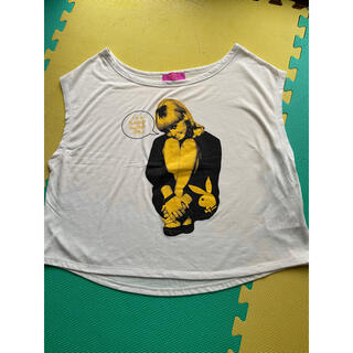 プレイボーイ(PLAYBOY)のPLAYBOY  Tシャツ 袖なし(Tシャツ(半袖/袖なし))