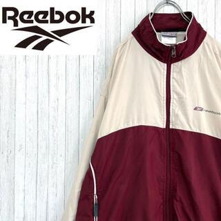 リーボック(Reebok)のリーボック ナイロンジャケット ウインドブレーカー ジップアップ 万国旗タグ M(ナイロンジャケット)