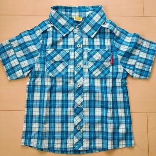 ムージョンジョン(mou jon jon)のMou jon jon シャツ 100cm(Tシャツ/カットソー)