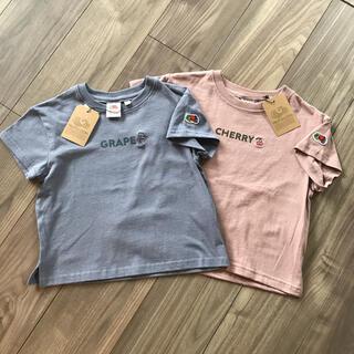 ロンハーマン(Ron Herman)のバラ売り可能! 新品 フルーツオブザルーム  Tシャツ 2枚セット 半袖(Tシャツ/カットソー)