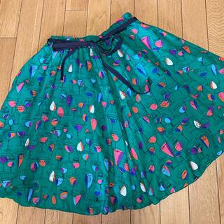 ドーリーガールバイアナスイ(DOLLY GIRL BY ANNA SUI)のドーリーガールバイアナスイ カクテル柄スカート(ひざ丈スカート)
