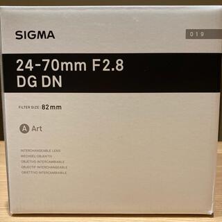 SIGMA 24-70mm F2.8 DG DN Art ソニー Eマウント用